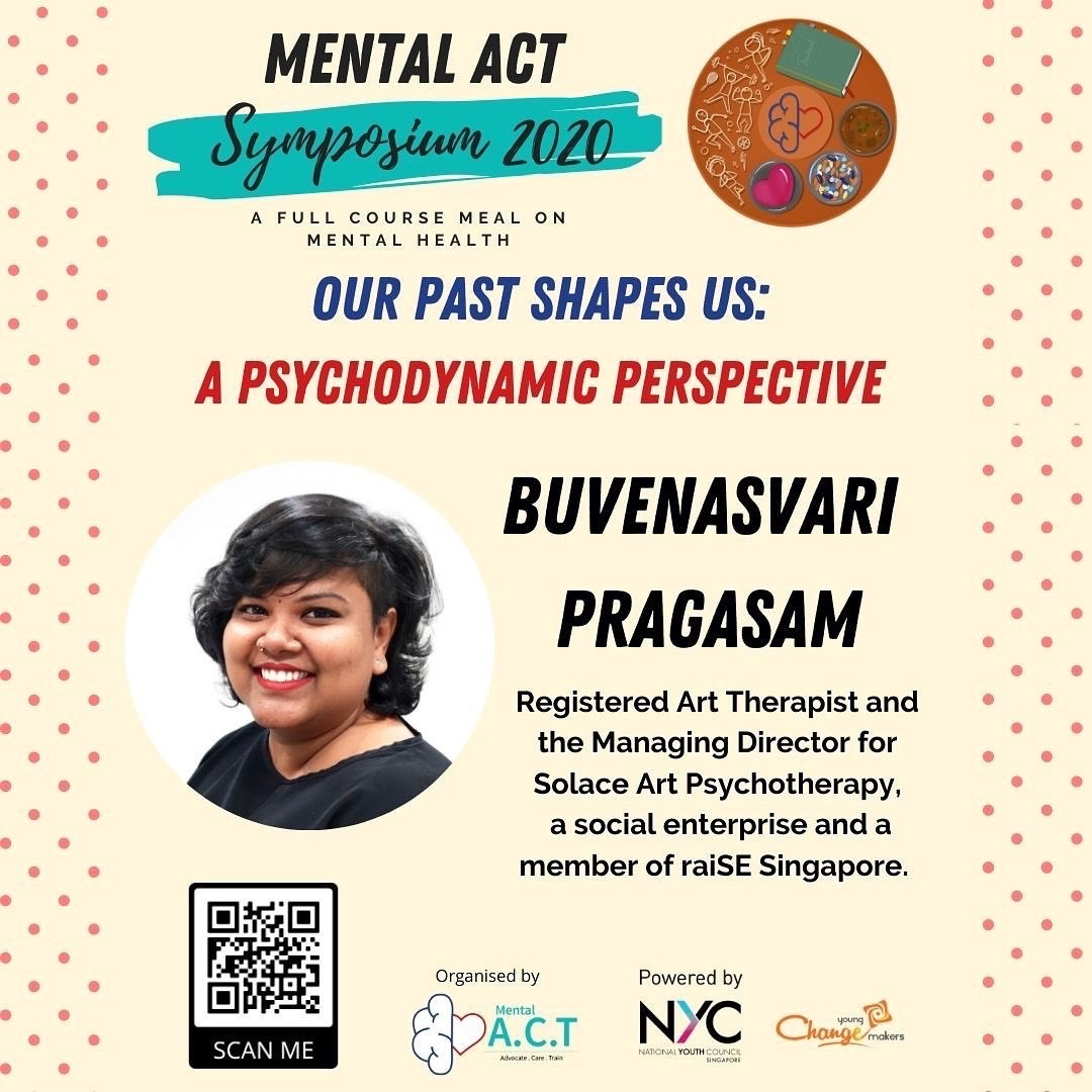 Psychodynamic Perspective and Inner Child Works Workshop with Mental ACT Symposium 2020 Buvenasvari