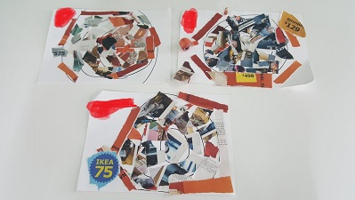 Art Therapy Paper Collage Online Workshop