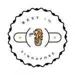 best in singapore logo badge award