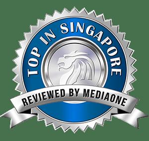 Top in Singapore Award Logo