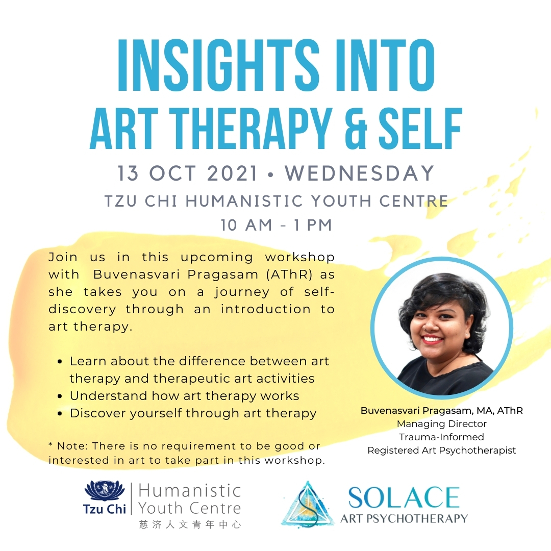 Art Therapy Workshop Youth Humanistic Centre Singapore