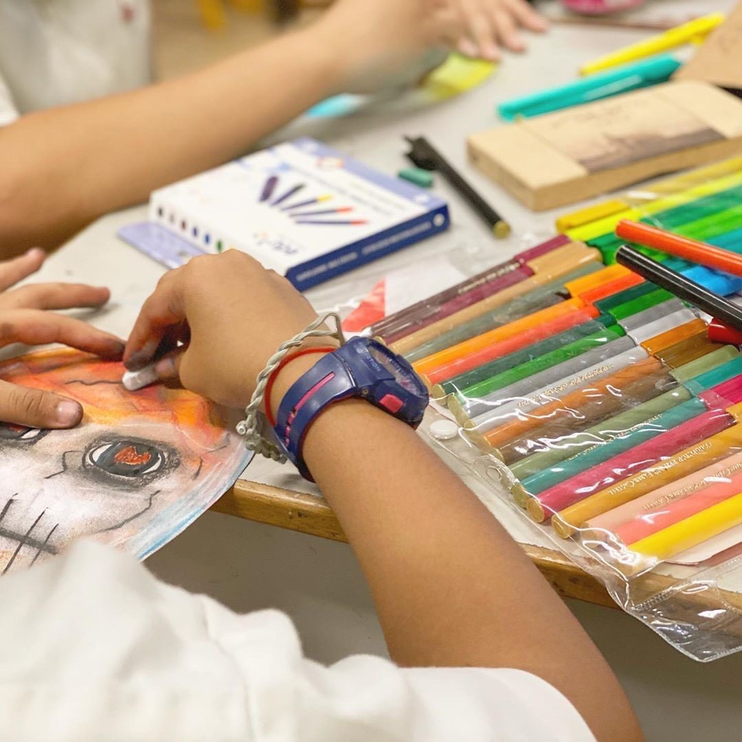 Art Therapy for GEAR-UP Programme